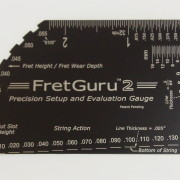 New black FretGuru 2 gauge